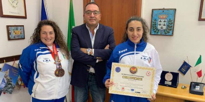 Sindaco di Aprilia riceve maestro Angela Dammone Sessa