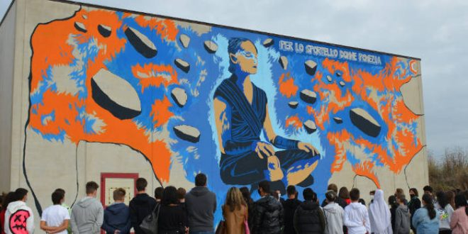 Street Art a Pomezia, il Sindaco inaugura i murales
